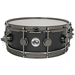 "DW Satin Oil 14"" x 5,5"" Special Edition Matte Black Snare Drum « Snare Drum"