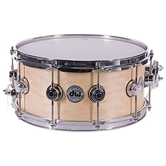 "DW Satin Oil 14""x 6,5"" Natural Maple Snare Drum « Малый барабан"