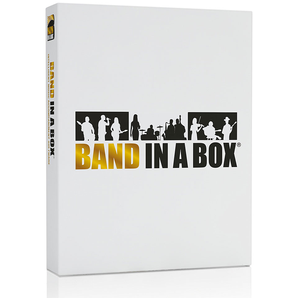 PG Music Band-in-a-Box Pro 2019 PC German