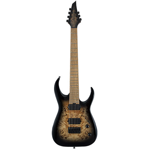 Jackson Pro Series Misha Mansoor Juggernaut HT7 BLK BRST « E-Gitarre