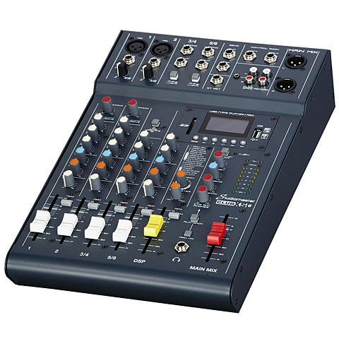 Mesa de mezclas Studiomaster Club XS6