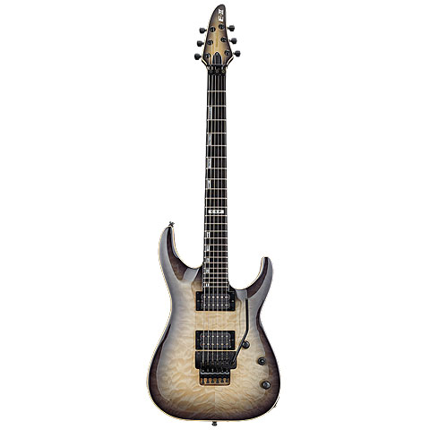 ESP E-II Horizon FR QM BLKNB « Electric Guitar