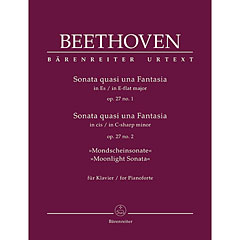 Bärenreiter Beethoven 2 Sonaten op. 27, 1+2 « Music Notes