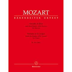 Bärenreiter Mozart Sonate für Klavier A-Dur KV 331 « Notenbuch