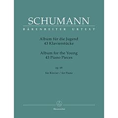 """Bärenreiter Schumann 43 Klavierstücke für die Jugend op.68 """"Album für die Jugend"""" « Libro de partituras"""