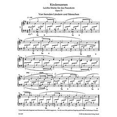 Bärenreiter Schumann Kinderszenen op.15
