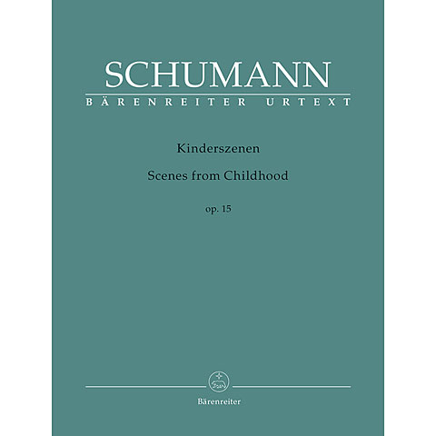 Music Notes Bärenreiter Schumann Kinderszenen op.15