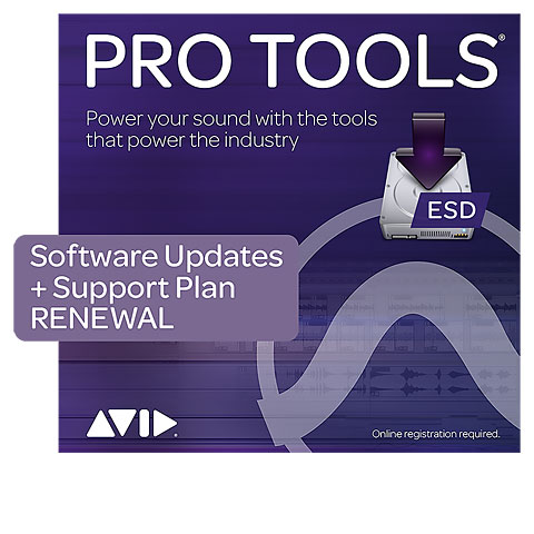 Software DAW Avid Pro Tools Upgrade Plan Renewal ESD