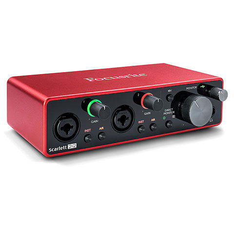 Carte son, Interface audio Focusrite Scarlett 2i2 3rd Gen