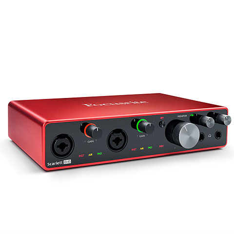 Interface de audio Focusrite Scarlett 8i6 3rd Gen