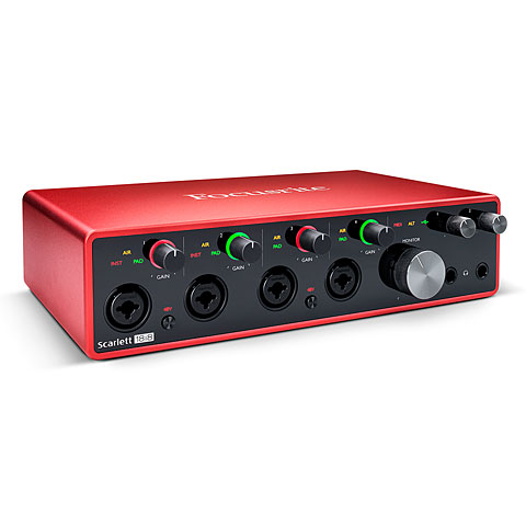 Carte son, Interface audio Focusrite Scarlett 18i8 3rd Gen