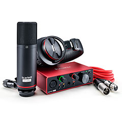 Focusrite Scarlett Solo Studio Pack 3rd Gen « Interface de audio