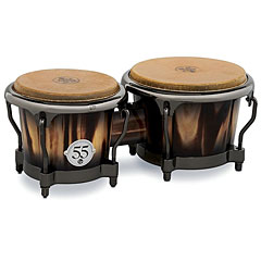 Latin Percussion 55th Anniversary Candy Black Burst Bongo « Bongos
