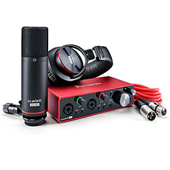 Focusrite Scarlett 2i2 Studio Pack 3rd Gen « Interface de audio