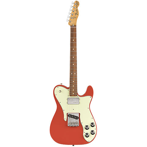 Fender Vintera 70's Tele Custom FRD « Guitare électrique