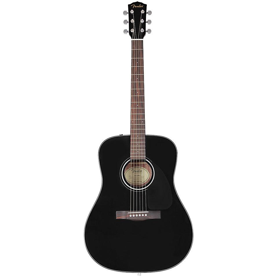 Westerngitarren - Fender CD 60 V3 BLK Westerngitarre - Onlineshop Musik Produktiv