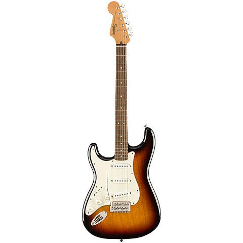 Squier Classic Vibe 60s Strat 3-Tone Sunburst « E-Gitarre Lefthand