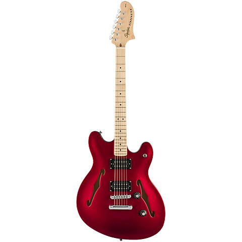 Squier Affinity Starcaster MN CAR « E-Gitarre