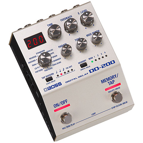 Pedal guitarra eléctrica Boss DD-200 Digital Delay