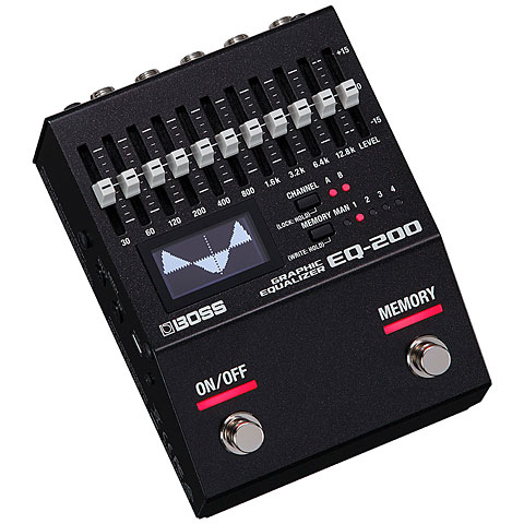 Effectpedaal Gitaar Boss EQ-200 Graphic Equalizer