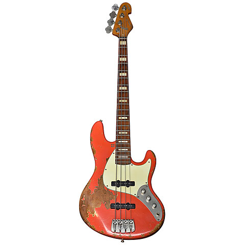Sandberg California TT4 Masterpiece Fiesta Red « Electric Bass Guitar