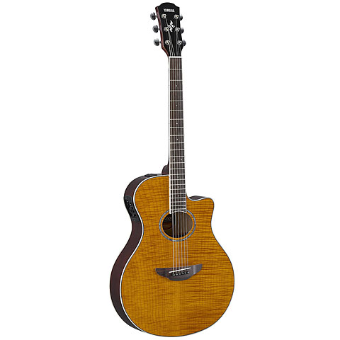 Guitarra acústica Yamaha APX600FM AMBER