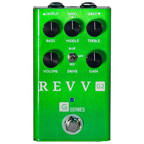 Pedal guitarra eléctrica Revv G2