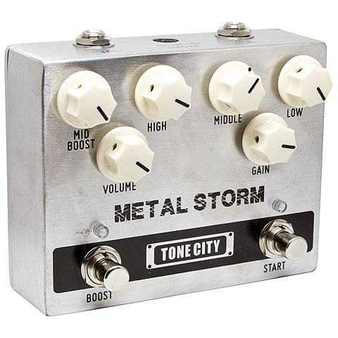 Pedal guitarra eléctrica Tone City Metal Storm