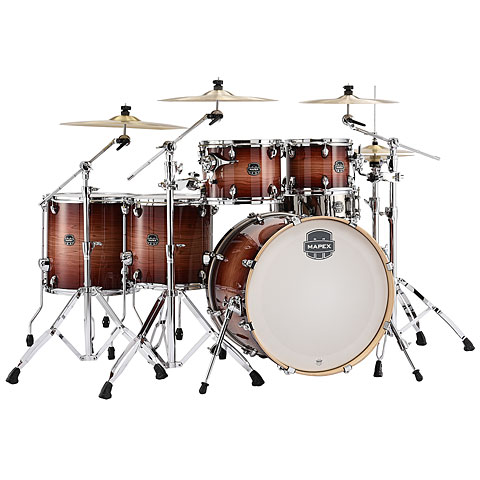 "Mapex Armory 22"" Redwood Burst 6 Piece Shell-Set"