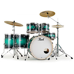 "Pearl Export Artisan 22"" Teal Blue Ash LTD Drumset « Drum Kit"