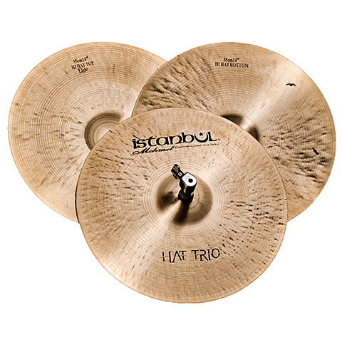 "Cymbale Hi-Hat Istanbul Mehmet Traditional 14"" Trio HiHat"