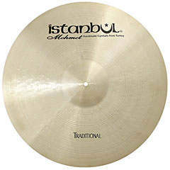"Istanbul Mehmet Traditional 21"" Custom Dry Ride « Cymbale Ride"