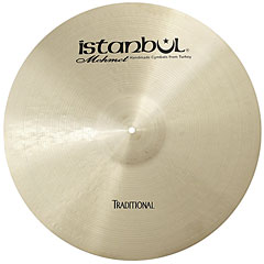 "Istanbul Mehmet Traditional 22"" Custom Dry Ride « Cymbale Ride"