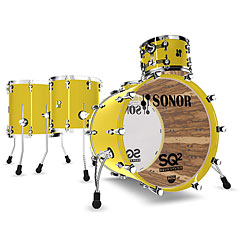 Sonor 1011446-2 Lemon Yellow Rock Shellset « Batterie acoustique