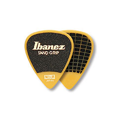 Ibanez Flat Pick Sand Grip gelb « Médiators