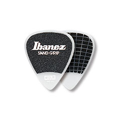 Ibanez Flat Pick Sand Grip weiß « Médiators