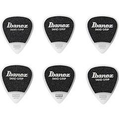 Ibanez Flat Pick Sand Grip weiß