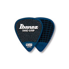 Ibanez Flat Pick Sand Grip blau « Médiators