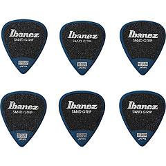 Ibanez Flat Pick Sand Grip blau « Plectrum