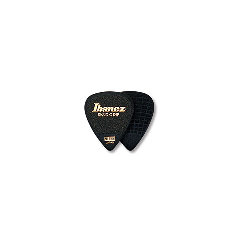 Plektrum Ibanez Flat Pick Sand Grip schwarz 1,0 mm