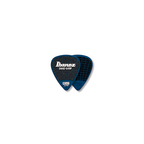 Plektrum Ibanez Flat Pick Sand Grip blau 1,0 mm