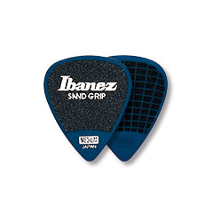 Ibanez Flat Pick Sand Grip blau 1,0 mm « Plectrum
