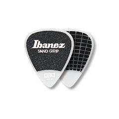 Ibanez Flat Pick Sand Grip weiß 1,0 mm « Plektrum