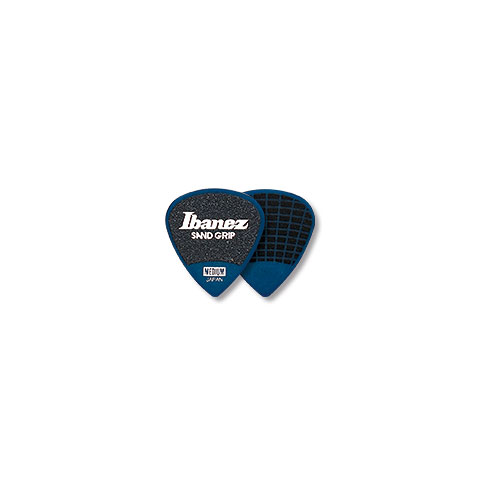 Plectrum Ibanez Flat Pick Sand Grip blau 0,8 mm