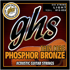 GHS Thin Core Bronze Light TCB L « Saiten Westerngitarre