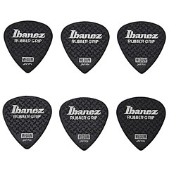 Ibanez Flat Pick Rubber Grip schwarz « Médiators