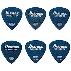Ibanez Flat Pick Rubber Grip blau « Plectrum