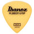 Plektrum Ibanez Flat Pick Rubber Grip gelb, 0,8 mm