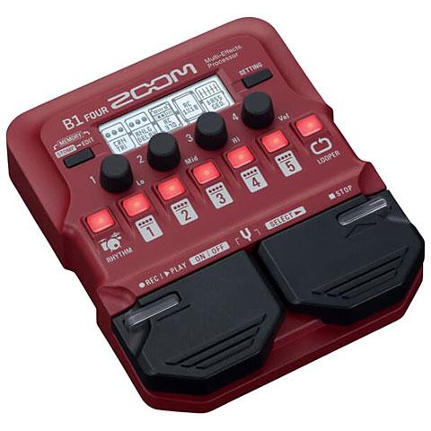 Multi-effets basse électrique Zoom B1 Four