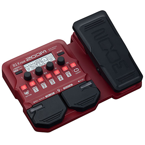 Multieffektgerät E-Bass Zoom B1X Four